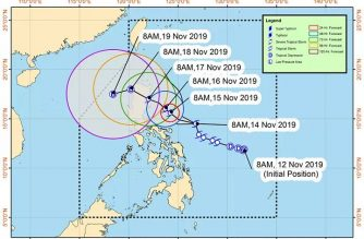 "Signal No. 2 still hoisted over Catanduanes; More areas under Signal No. 1 as TS ""Ramon"" maintains strength"
