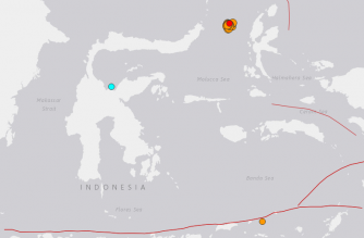 Strong 7.1 earthquake off Indonesia