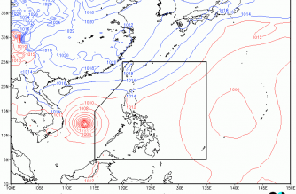 PAGASA monitors severe tropical storm outside PAR; Tail-end of cold front to bring rains to several areas