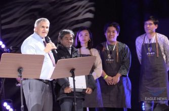 Jose Saguban, a cacao grower from Davao City,  placed second in Asia Pacific and landed as one of the Top 20 producers of Best Bean during the International Cocoa Awards at the Salon du Chocolat, the world's biggest chocolate trade fair in Paris. (Photo courtesy Ma. Socorro de Jesus,  Eagle News Service)