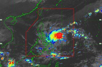 "LPA off Catanduanes intensifies into Tropical Depression ""Ramon"""