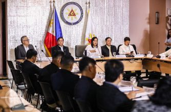 Vice President Leni Robredo as she takes the helm and convenes her first meeting with the Inter-Agency Committee on Anti-Illegal Drugs (ICAD) on Friday, Nov. 8, 2019. (Photo courtesy VP Leni Robredo Facebook)