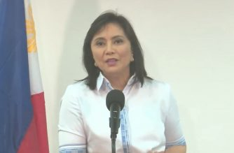 Vice-President Leni Robredo holds a press briefing a day after she was fired as co-chair of the Inter-Agency Committee on Anti-Illegal Drugs (ICAD) on Monday, Nov. 25, 2019. (Photo grabbed from Vice-President Leni Robredo's Facebook page/Courtesy VP Leni Robredo FB page)