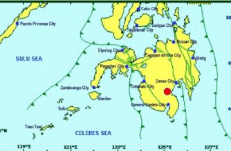 3.2-magnitude quake hits Cotabato