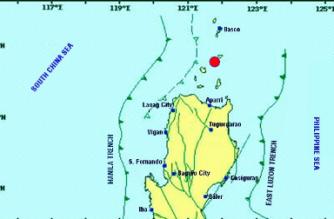 3.6-magnitude quake strikes off Cagayan