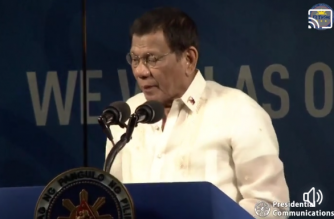 President Rodrigo Duterte formally declared the 30th SEA Games open on Saturday, Nov. 30./PCOO/