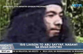 ISIS liaison to Abu Sayyaf killed in encounter with army troops in Sulu
