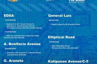 Some M. Manila roads to undergo reblocking, repair starting tonight
