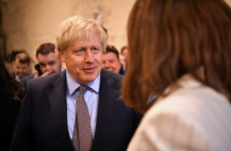 Britain's Prime Minister Boris Johnson speaks to newly-elected Conservative MPs in Westminster Hall in the Palace of Westminster, central London on December 16, 2019. - Prime Minister Boris Johnson got down to work Monday following his sweeping election victory, appointing ministers and announcing plans to publish legislation this week to get Britain out of the European Union. (Photo by Leon Neal / POOL / AFP)