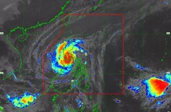 """Tisoy"" makes landfall in Marinduque, heads toward Batangas-northern Oriental Mindoro area"