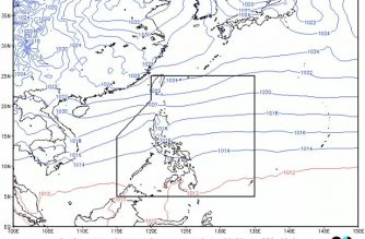 Cloudy skies, light rains expected over parts of N. Luzon