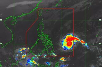 """Signal No. 1 hoisted over portions of Surigao del Norte, 2 other areas as tropical storm now named """"Ursula"""" enters PAR"""