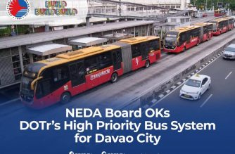 High Priority Bus System for Davao gets NEDA Board approval