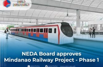 Phase 1 of Mindanao Railway Project gets NEDA Board nod; Full Tagum-Davao-Digos line to be operational in 2022