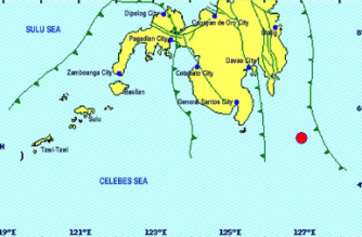 JUST IN: 5.6-magnitude quake hits Davao Occidental — PHIVOLCS