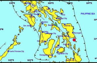 3.1-magnitude quake hits Eastern Samar