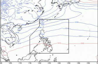 Cloudy skies with rainshowers expected in parts of PHL today
