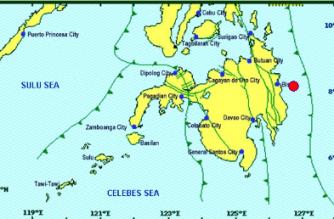3.0-magnitude quake hits Surigao del Sur