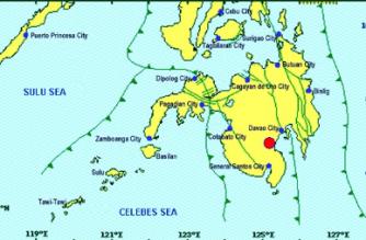 6.9-magnitude quake hits Davao del Sur
