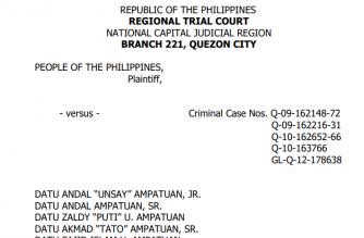 Read:  Full decision of the Maguindanao massacre case