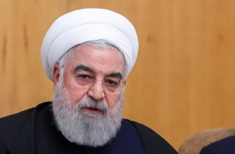 """(FILES) In this file handout picture provided by the Iranian presidency on January 8, 2020 Iranian president Hassan Rouhani speaks during a cabinet meeting in the capital Tehran. - Iranian President Hassan Rouhani on January 11 said his country """"deeply regrets"""" the shooting down of a Ukrainian airliner, which he described as """"a great tragedy & unforgivable mistake"""". (Photo by HO / Iranian Presidency / AFP) / === RESTRICTED TO EDITORIAL USE - MANDATORY CREDIT """"AFP PHOTO / HO / IRANIAN PRESIDENCY"""" - NO MARKETING NO ADVERTISING CAMPAIGNS - DISTRIBUTED AS A SERVICE TO CLIENTS ==="""