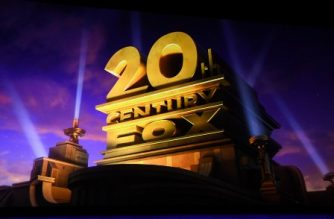 (FILES) In this file photo taken on April 3, 2019 the 20th Century Fox logo is seen during the CinemaCon Walt Disney Studios Motion Pictures Special presentation at the Colosseum Caesars Palace, in Las Vegas, Nevada. - Disney will rename 20th Century Fox to distance its legendary film studio from the assets of media tycoon Rupert Murdoch, US media reported on January 17, 2020. (Photo by VALERIE MACON / AFP)