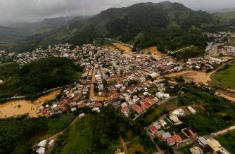 "Video grab released on January 18, 2020 by Espirito Santo State Government showing floods following heavy rain at the city of Iconha, state of Espirito Santo, Brazil. (Photo by ADRIANO ZUCOLOTTO / ESPIRITO SANTO STATE GOVERNMENT / AFP) / RESTRICTED TO EDITORIAL USE - MANDATORY CREDIT ""AFP PHOTO / ESPIRITO SANTO STATE GOVERNMENT - Adriano ZUCOLOTTO "" - NO MARKETING - NO ADVERTISING CAMPAIGNS - DISTRIBUTED AS A SERVICE TO CLIENTS"