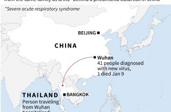 First case of mystery SARS-like virus found outside China