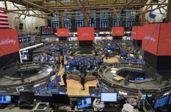 NEW YORK, NY - JANUARY 10: A traderes work on the floor of the New York Stock Exchange (NYSE) on January 10, 2020 in New York City.   Kena Betancur/Getty Images/AFP