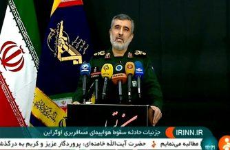 Brigadier General Amir Ali Hajizadeh, aerospace commander of Iran's Revolutionary Guards,