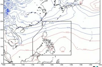 Thunderstorm advisory hoisted over parts of N. Luzon