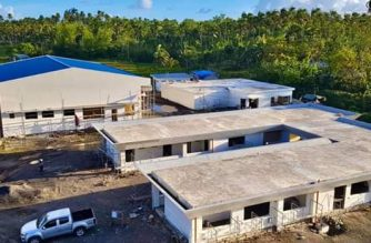 The Department of Transportation is eyeing the completion of the Bicol International Airport by July 2020./DOTr/