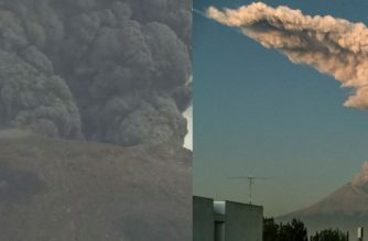 Before Taal Volcano eruption, Japan's Mt. Shintake and Mexico's Popocatepetl volcano also spew ash, rocks
