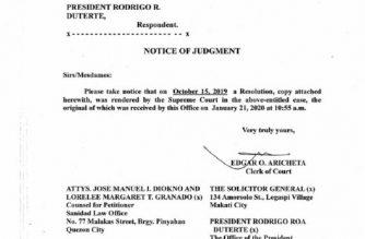 The SC has junked the petition for writ of habeas data filed by Senator Leila De Lima against President Rodrigo Duterte./via Moira Encina/Eagle News/