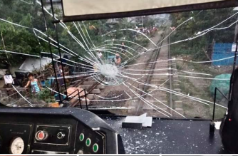 Another PNR train damaged in stone-throwing incident