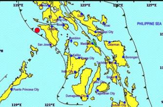 3.2-magnitude quake hits Occidental Mindoro