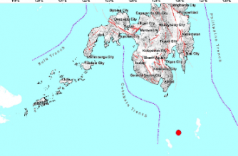 3.2-magnitude quake hits Davao Occidental