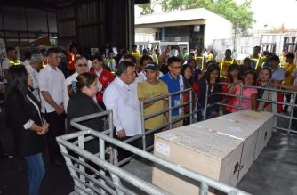 The remains of Jeanelyn Villavende arrived in the country on Wednesday, Jan. 8. /DFA/
