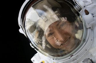 """This NASA photo released on February 4, 20202 shows NASA astronaut Christina Koch during a spacewalk on January 15, 2020. - NASA astronaut Christina Koch is set to return to Earth on February 6,2020 after 328 days living and working aboard the International Space Station. Her mission is the longest single spaceflight by any woman, which is helping scientists gather data for future missions to the Moon and Mars. Koch will return to Earth alongside ESA (European Space Agency) astronaut Luca Parmitano and Russian cosmonaut Alexander Skvortsov. She has been a crew member for three expeditions – 59, 60 and 61 – during her first spaceflight. She now holds the record for the second-longest single spaceflight by a US astronaut, which places her seventh on the list of US space travelers for overall time in space. Former NASA astronaut Scott Kelly holds the longest single spaceflight for US astronauts at 340 days, set during his one-year mission in 2015-16. (Photo by Handout / NASA / AFP) / RESTRICTED TO EDITORIAL USE - MANDATORY CREDIT """"AFP PHOTO /NASA/HANDOUT """" - NO MARKETING - NO ADVERTISING CAMPAIGNS - DISTRIBUTED AS A SERVICE TO CLIENTS"""