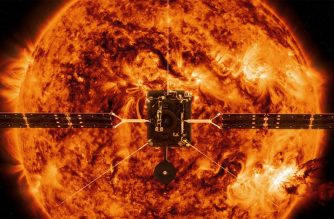 "(FILES) This file handout illustration image provided by NASA and obtained February 3, 2020 shows the Solar Orbiter. - The European Space Agency is set to embark upon one of its most ambitious projects to date, with the launch late February 9, 2020 from Florida's Cape Canaveral of its Solar Orbiter probe bound for the Sun. The mission, due to blast off from the Kennedy Space Center at 11:03 pm (0403 GMT Monday), is set to last up to nine years.Scientists say the craft, developed in close cooperation with NASA, is expected to provide unprecedented insights into the Sun's atmosphere, its winds and its magnetic fields. (Photo by Handout / NASA / AFP) / RESTRICTED TO EDITORIAL USE - MANDATORY CREDIT ""AFP PHOTO /NASA/HANDOUT"" - NO MARKETING - NO ADVERTISING CAMPAIGNS - DISTRIBUTED AS A SERVICE TO CLIENTS"