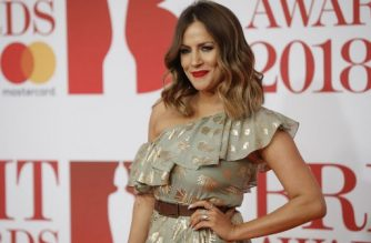 "(FILES) In this file photo taken on February 21, 2018 British television presenter Caroline Flack poses on the red carpet on arrival for the BRIT Awards 2018 in London. - British television presenter Caroline Flack was found dead on February 15, 2020, her family said in a statement, the third star connected with the hit reality show ""Love Island"" to have died. ""We can confirm that our Caroline passed away today on the 15th February,"" the 40-year-old's family said in a statement. (Photo by Tolga AKMEN / AFP) / RESTRICTED TO EDITORIAL USE – NO POSTERS – NO MERCHANDISE– NO USE IN PUBLICATIONS DEVOTED TO ARTISTS"