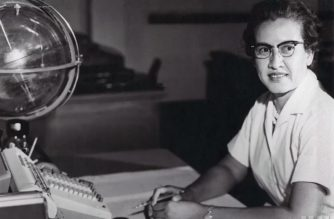 "This NASA file handout photo obtained February 24, 2020, shows NASA research mathematician Katherine Johnson at her desk at Langley Research Center, born on August 26, 1918, in White Sulphur Springs, West Virginia, Johnson worked at Langley from 1953 until her retirement in 1986, making critical technical contributions which included calculating the trajectory of Alan Shepard's historic 1961 flight. - Katherine Johnson, whose calculations enabled Apollo 11 to land on the moon, died on February 24, 2020 at 101. Her story was told in the film ""Hidden Figures."" (Photo by Handout / NASA / AFP) / RESTRICTED TO EDITORIAL USE - MANDATORY CREDIT ""AFP PHOTO /NASA/HANDOUT "" - NO MARKETING - NO ADVERTISING CAMPAIGNS - DISTRIBUTED AS A SERVICE TO CLIENTS"