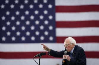 AUSTIN, TX - FEBRUARY 23: Democratic presidential candidate Sen. Bernie Sanders (I-VT) speaks during a campaign rally at Vic Mathias Shores Park on February 23, 2020 in Austin, Texas. With early voting underway in Texas, Sanders is holding four rallies in the delegate-rich state this weekend before traveling on to South Carolina. Texas holds their primary on Super Tuesday March 3rd, along with over a dozen other states.   Drew Angerer/Getty Images/AFP