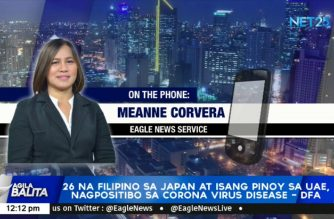 26 Filipinos in Japan, 1 Filipino in UAE confirmed to have COVID-19