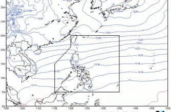 Northeast monsoon affects Northern, Central Luzon today