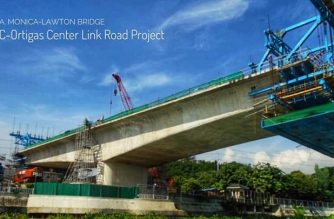One of the three Edsa decongestion projects the DPWH said may be completed by the end of this year./DPWH/