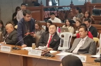 Senator Bong Go on Tuesday, Feb. 4, said the government was on top of the novel coronavirus situation in the country./Meanne Corvera/Eagle News/