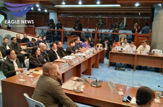The Senate committee on women and family relations resumed on Monday, Feb. 17, its hearings on sex trafficking in the POGO industry./Meanne Corvera/Eagle News/