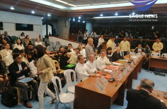 The Senate panel on public services kicked off its hearings on ABS-CBN'S franchise on Monday, Feb. 24./Meanne Corvera/Eagle News/