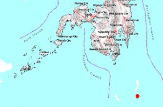 3.7-magnitude quake hits Davao Occidental